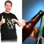 Koszulka z otwieraczem do piwa