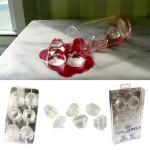 Lodowe diamenty w szklance