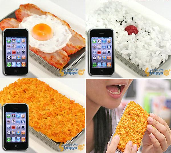 Etiu na iPhone w kształcie jedzenia
