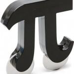 Nóż do pizzy w kształcie liczby Pi