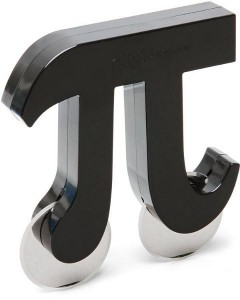 Nóż do pizzy w kształcie Pi
