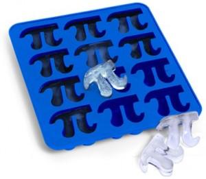 Foremki do lodu w kształcie Pi