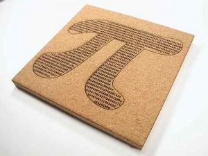 Tablica korkowa z Pi